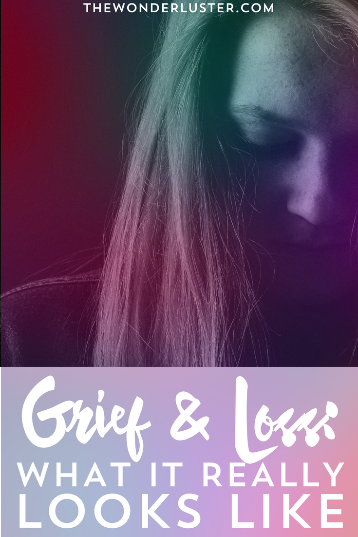 Dealing with grief looks different for everyone. It can be smiling through pain, eating cookies, or sobbing on the floor. Here's what it looks like for me.