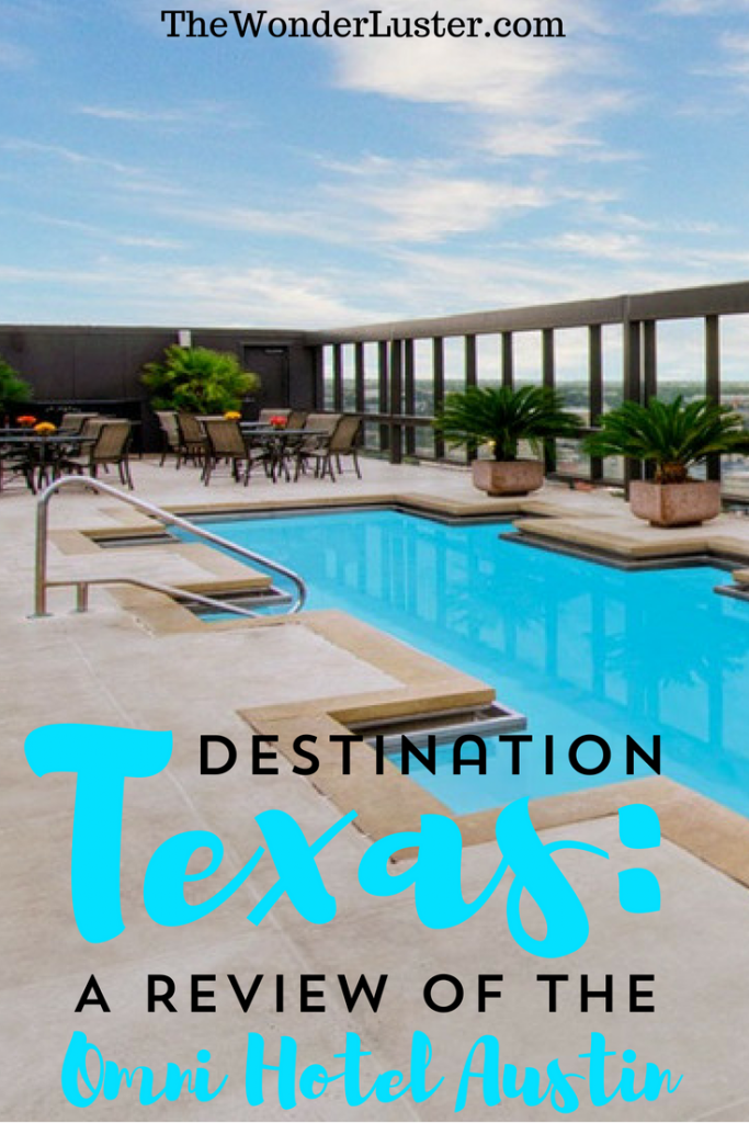 I recently got to stay at the Omni Hotel Downtown Austin, and it was so nice! It's in a great location close to 6th street and has so many amenities!