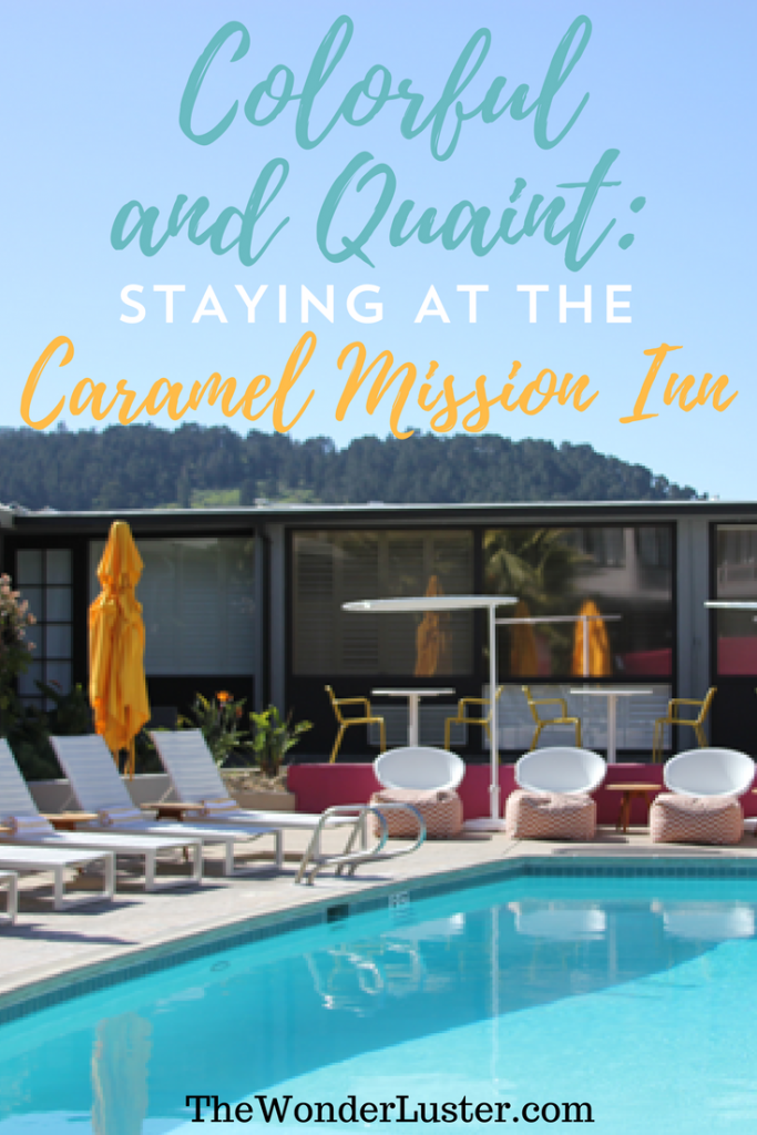 Looking to go vacation in beautiful Northern California? Consider staying at the Carmel Mission Inn - I would definitely recommend it!