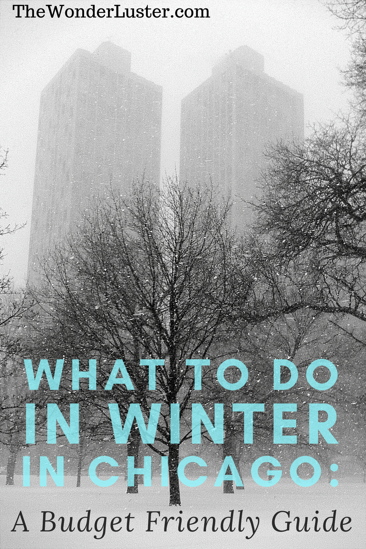 Winter in Chicago can be brutal at times, but if you're planning on visiting and wondering what there is to do, here is a budget friendly guide for you!