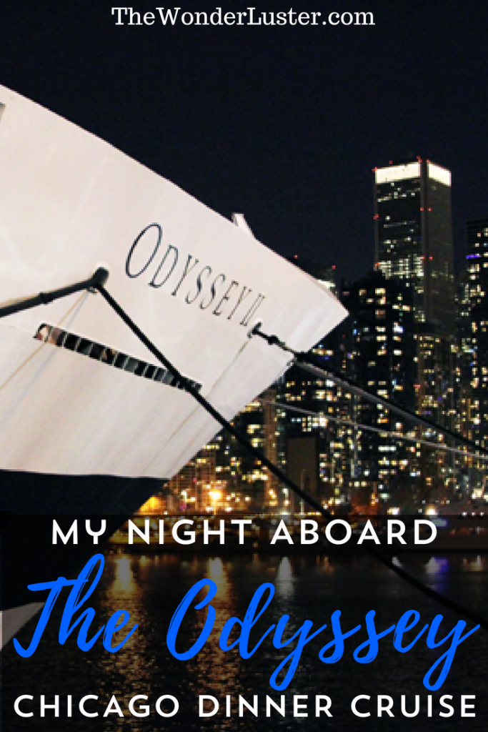 Live in Chicago? Want to try something fun and different for entertainment? Go on a NYE dinner cruise on The Odyssey Chicago! I had a blast.