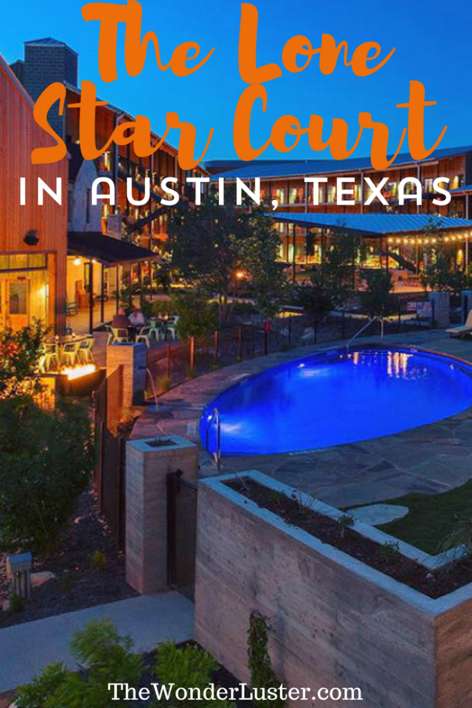 Do you have a favorite hotel? One that you'd seriously go to again and again? The Lone Star Court in Austin, TX made me feel that way.