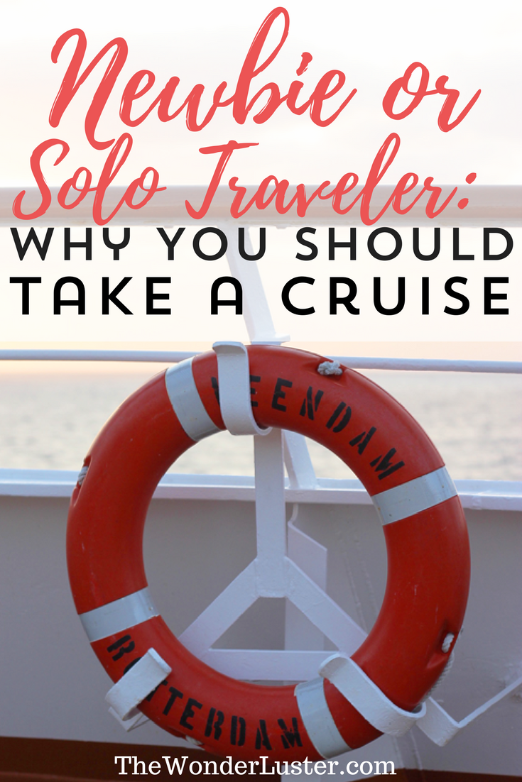 Are you a new or solo traveler? A cruise is a perfect idea for a trip! It's an easy and safe way to meet new people and have fun adventures.