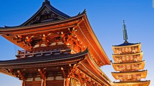 Traveling to see a Japanese Temple