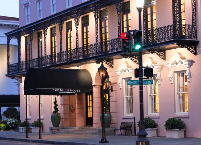 Pretty In Pink The Mills House Wyndham Grand Of Charleston South Carolina The Wonder Luster