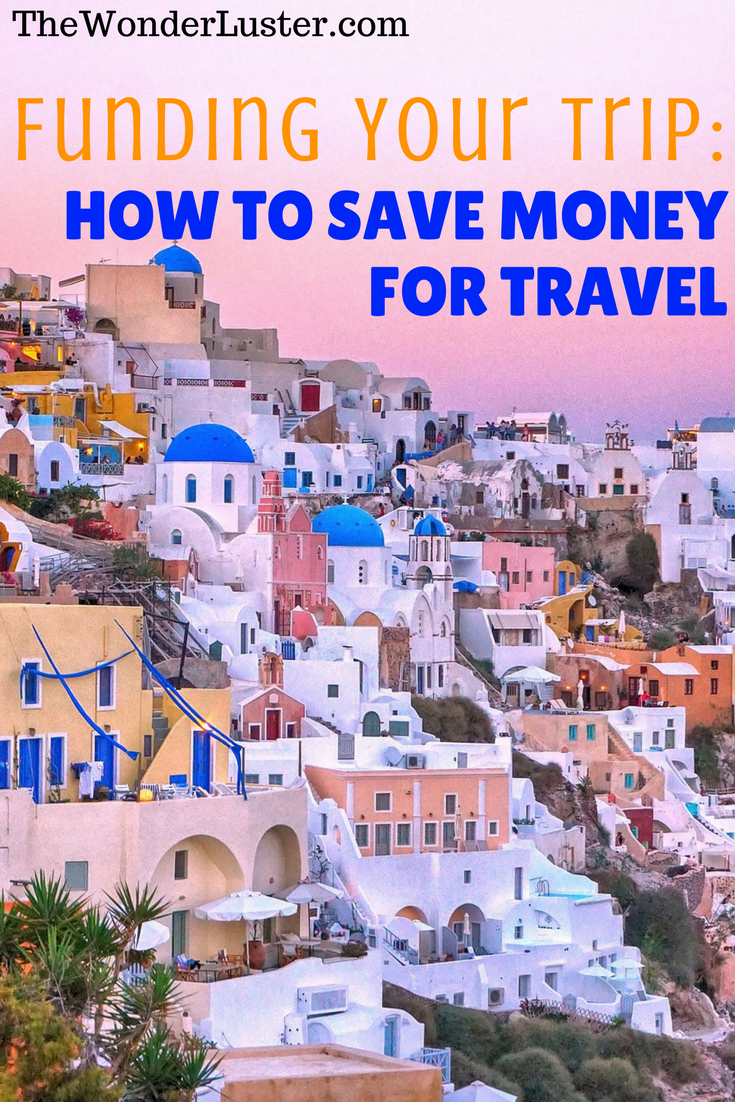 No, you really cant just backpack Europe with a few euros in your pocket. You actually have to save money for travel. Here's how I do it.