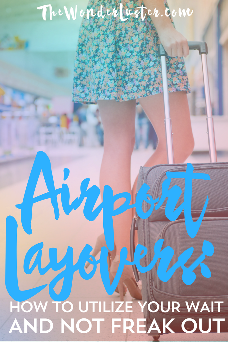 Being stuck in a loud and unfamiliar airport due to cancellation or delay blows. Here are some tips how you can utilize airport layovers to get through it!