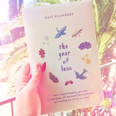 The Year of Less Book Review Cait Flanders