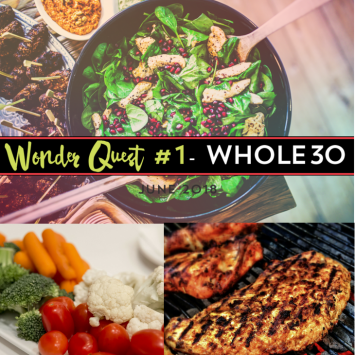 After a routine blood test that showed some abnormal thyroid levels, I'm recommitting myself to my health. How? I'm doing Whole30.